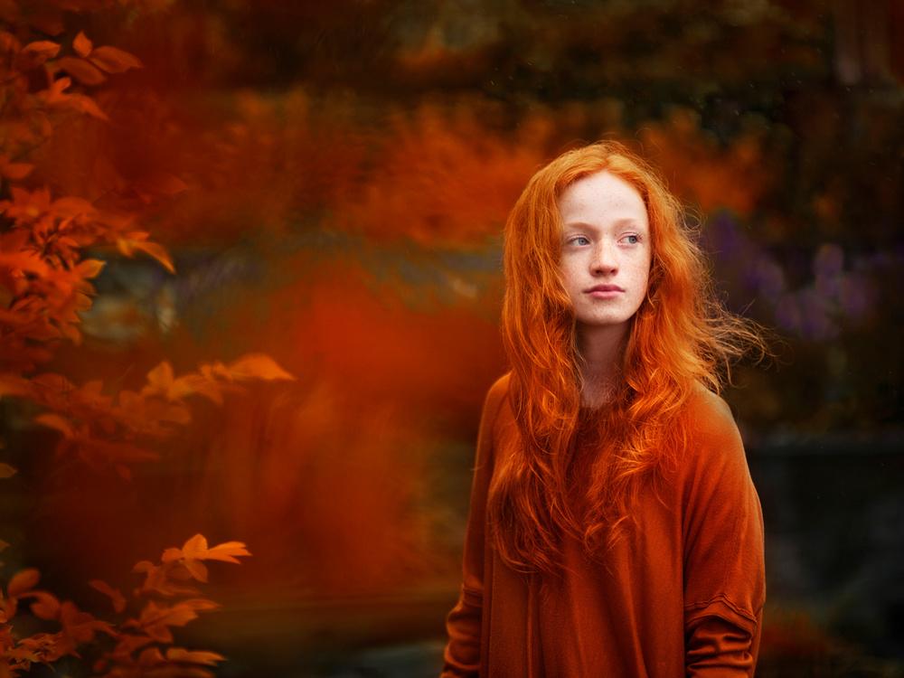 A piece of fine art art photography titled Clara's Garden by Anna Rawka