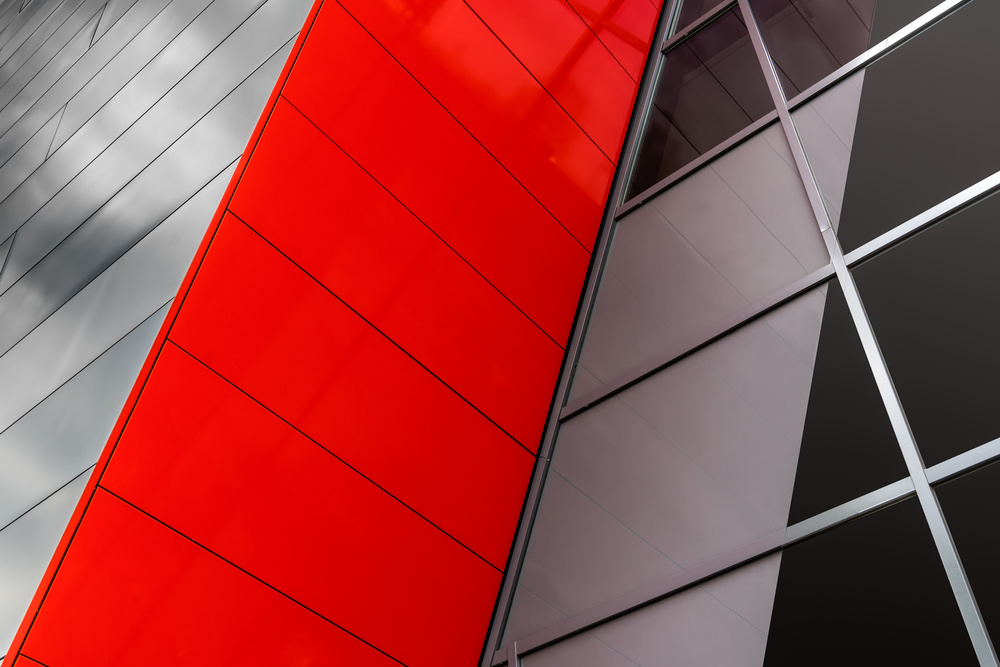 A piece of fine art art photography titled Commercial Red by Luc Vangindertael (laGrange)