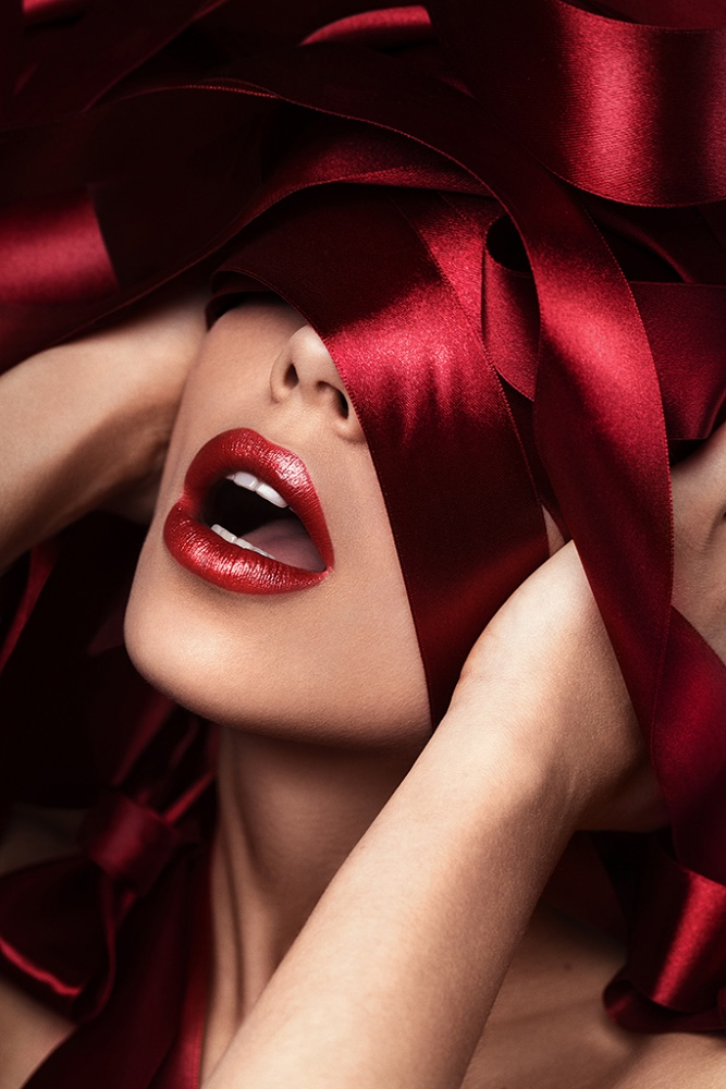 A piece of fine art art photography titled Red Passion by Vitaliy Reznichenko
