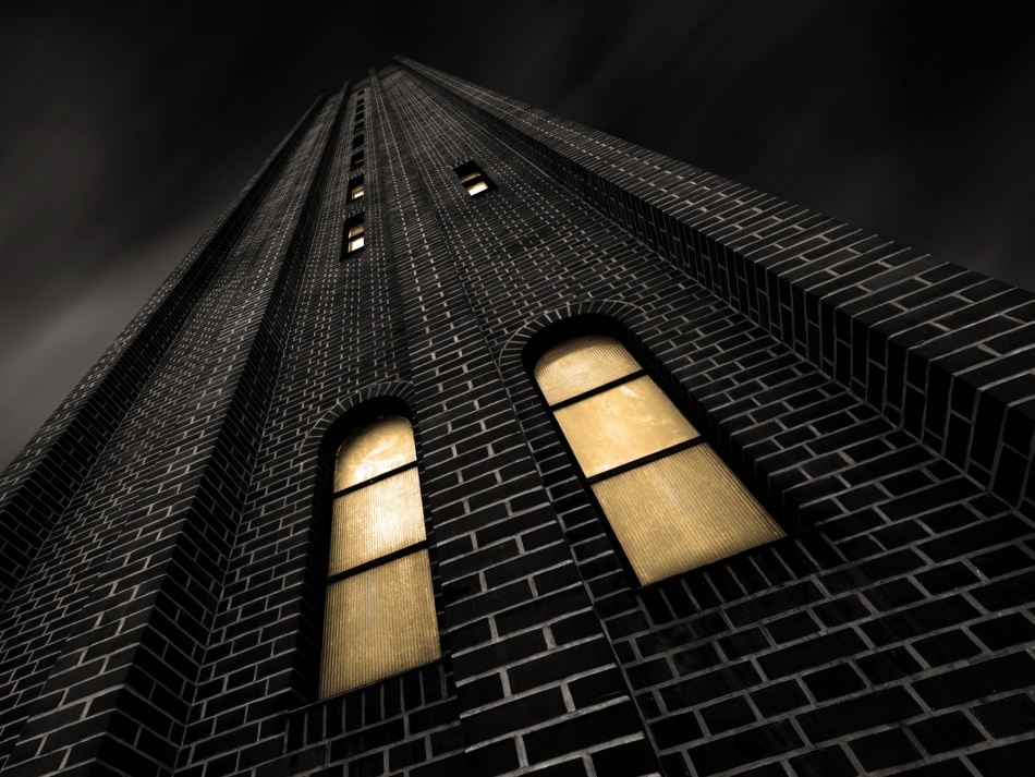 A piece of fine art art photography titled Bricks by Harry Lieber