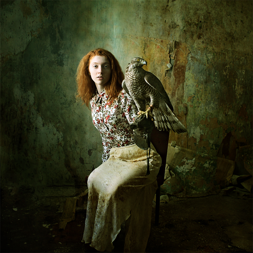 A piece of fine art art photography titled Bird Room by Katerina Lomonosov