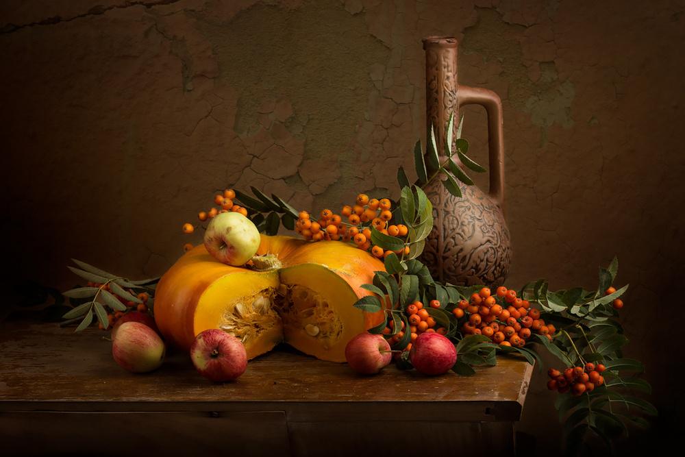 Pumpkin and rowan