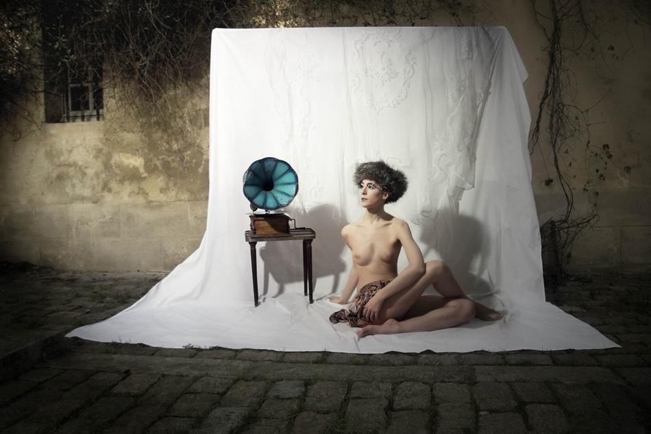 A piece of fine art art photography titled Corps Et Décors by Lili Renée