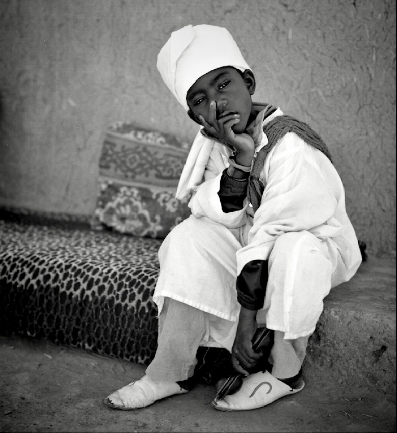 A piece of fine art art photography titled The Young Berbere by Rui Pires