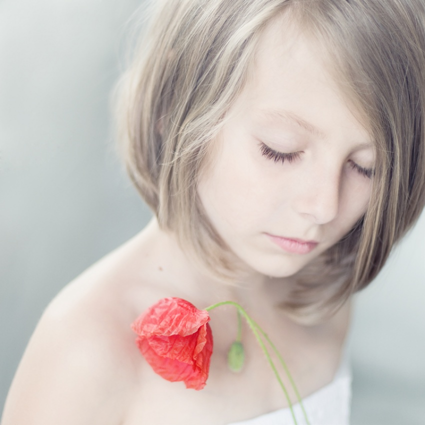 A piece of fine art art photography titled Softly by Magda Berny