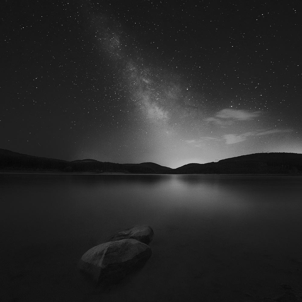 A piece of fine art art photography titled Studena Dam by Nikolay Alexiev