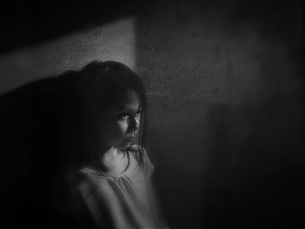 A piece of fine art art photography titled In the Dark by muhammad muttaqin