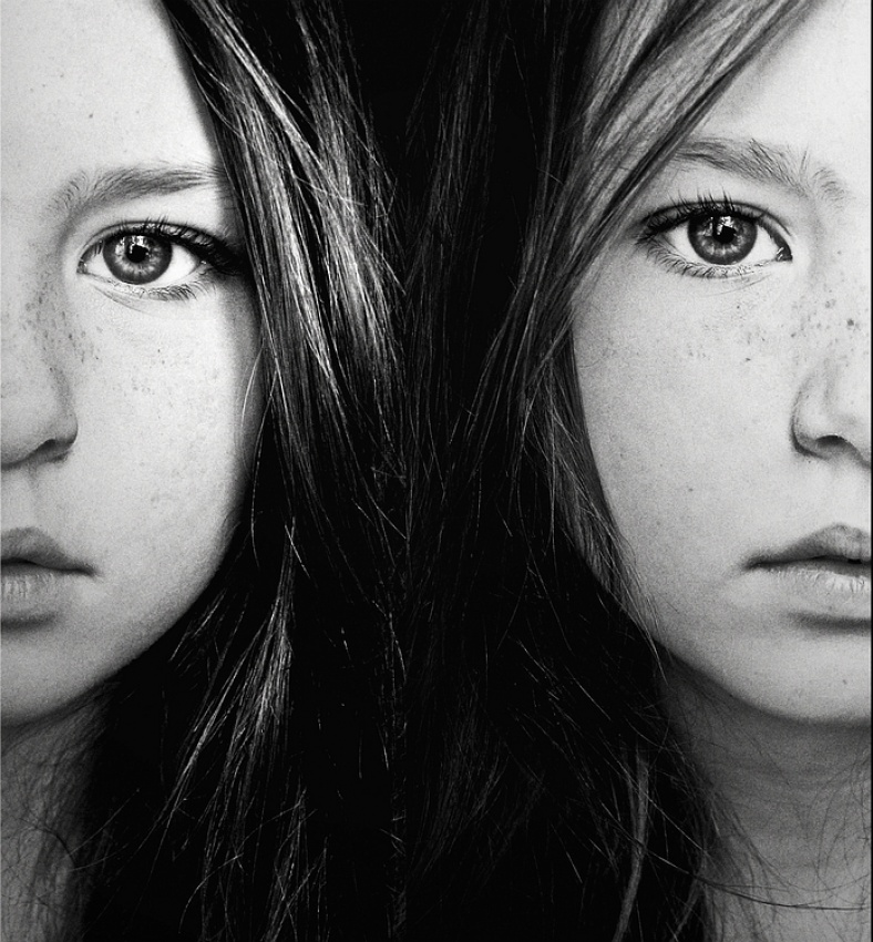 A piece of fine art art photography titled Half a Twin by Patricia