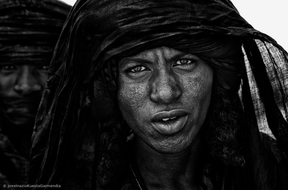 View this piece of fine art photography titled Peul tribe people at the gerewol festival - Niger by Joxe Inazio Kuesta Garmendia