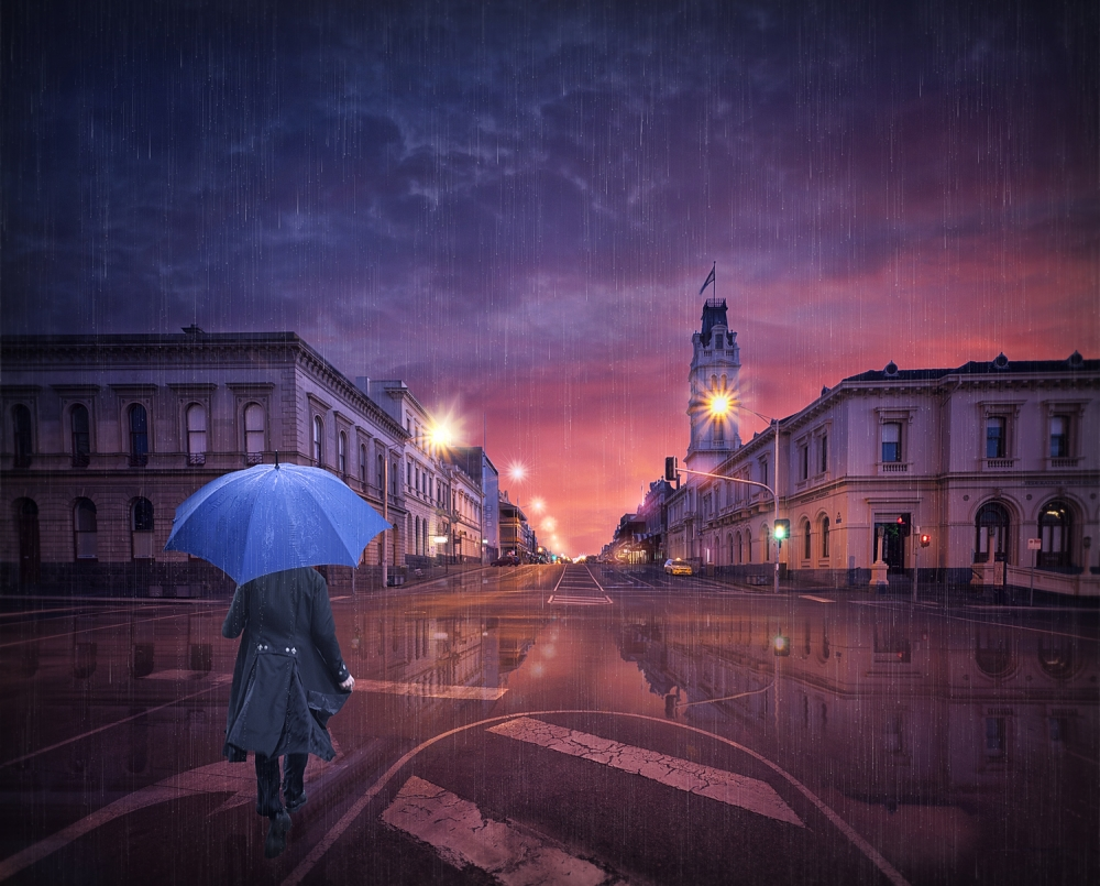 A piece of fine art art photography titled I Wake I Walk by Adrian Donoghue