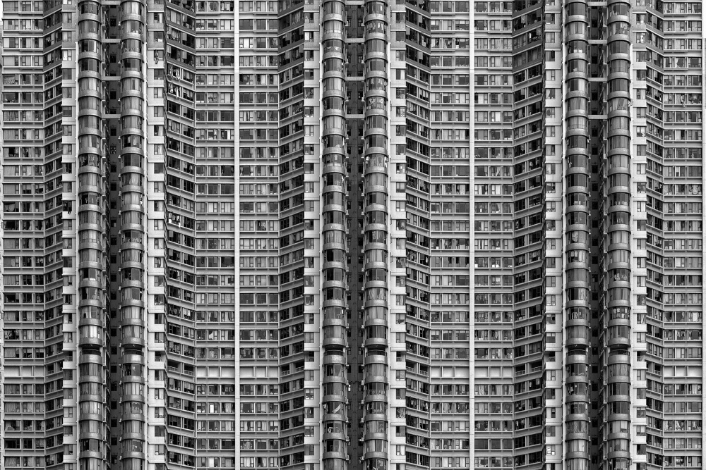 A piece of fine art art photography titled Better Know Where Your Flat Is by Stefan Schilbe
