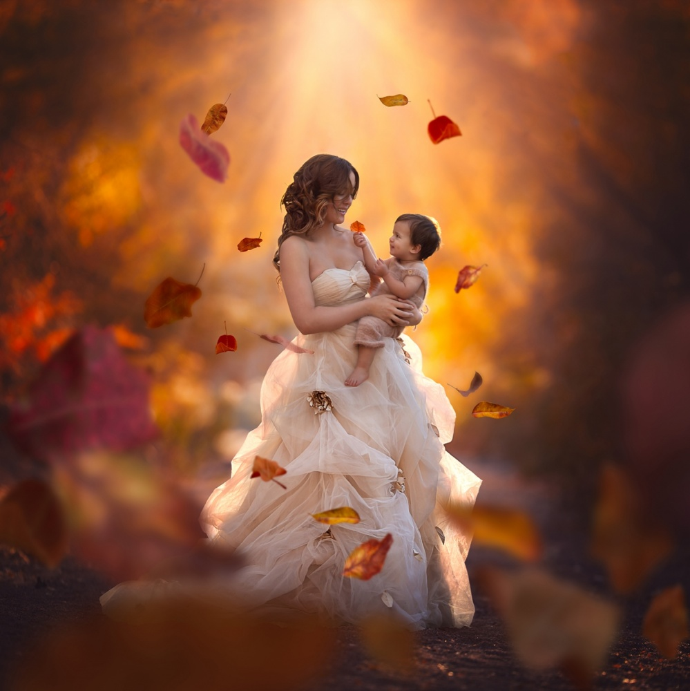 A piece of fine art art photography titled Pure Love by Lisa Holloway