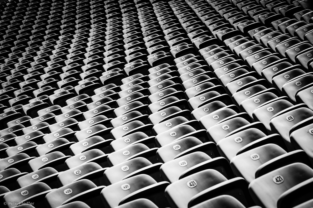 View this piece of fine art photography titled choice of seat by Peter Pfeiffer