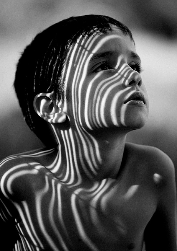 A piece of fine art art photography titled Boy by Vedran Vidak