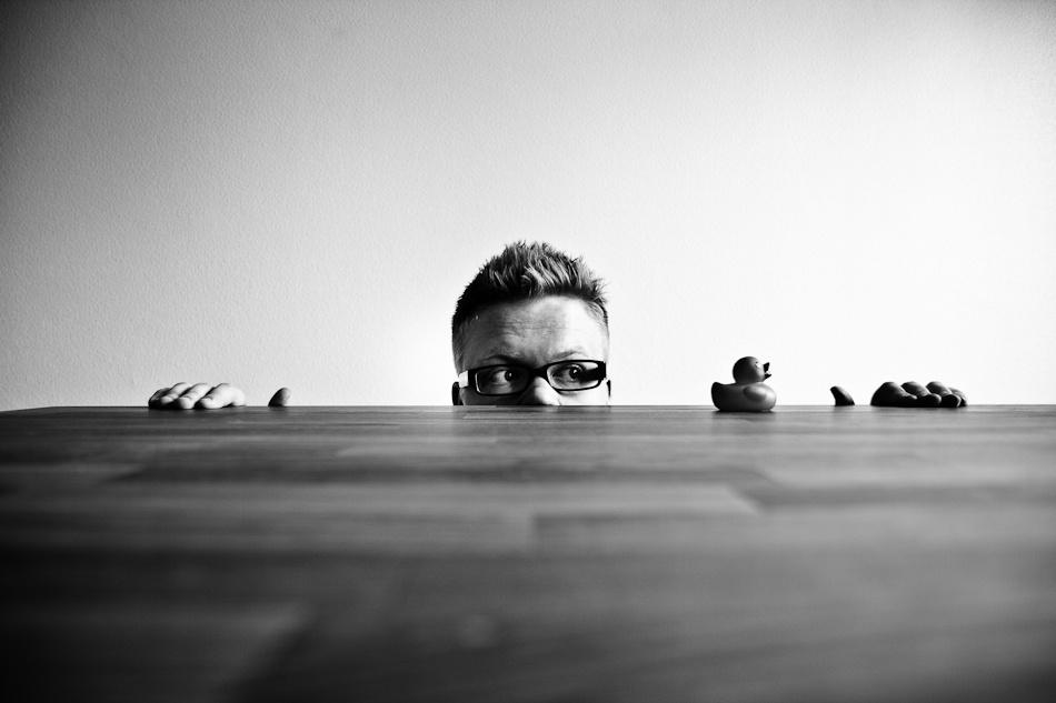 A piece of fine art art photography titled Duckpondish by Jarno Savinen