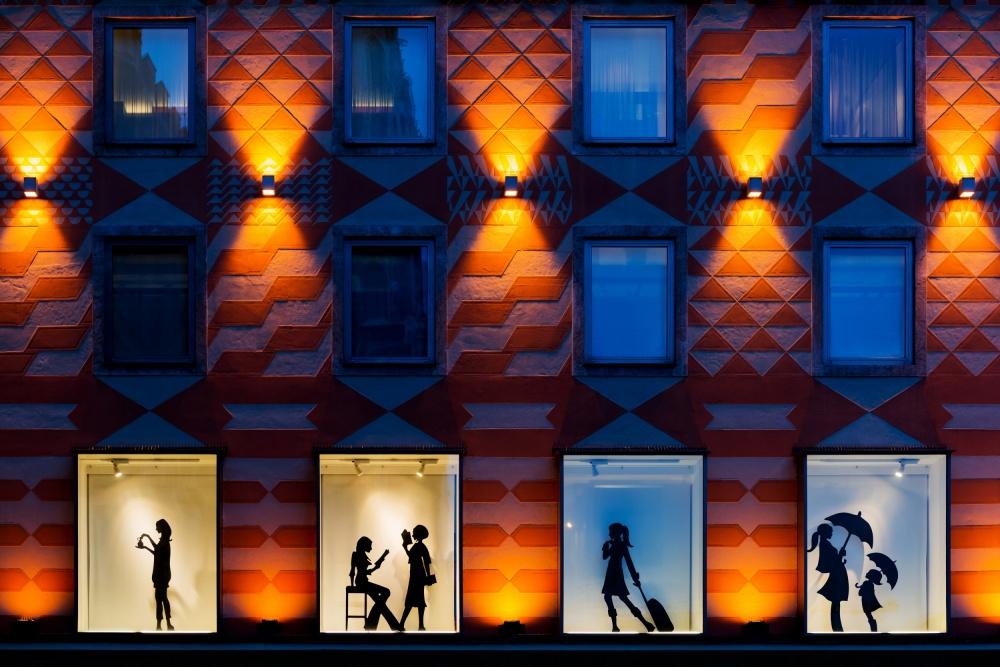 A piece of fine art art photography titled Life Behind Glass by Harry Lieber