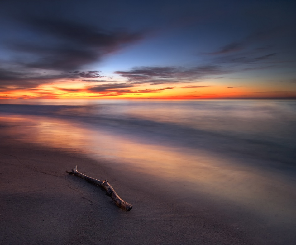 A piece of fine art art photography titled Silence With Light by Pawel Uchorczak